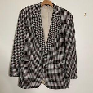 Austin Reed Suits & Blazers - VTG Austin Reed Wool Houndstooth Sport Coat Sz 42R